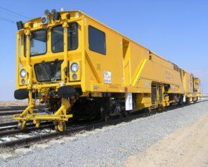 Harsco Rail Stoneblowing Technology