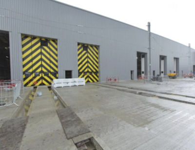 Nine Jewers Swift Doors Ensure Integrity of New Elizabeth Line OMC Depot