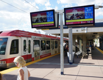 Nanov Display Develops New Series of Next Generation LCD Signs for Transit
