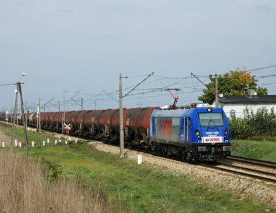 Polish Rail Company Lotos Kolej Buys 5 Newag Electric Locomotives