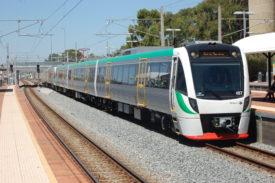 Transperth B-series train