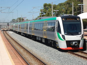 Transperth B-series train