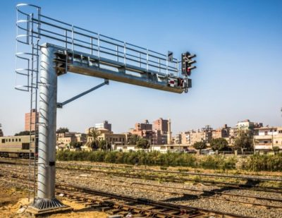 Maghagha Station Equipped with Alstom Interlocking Signalling System