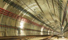 three-way splice junction box for rail tunnels