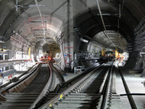 Crossrail progress: line-wide systems
