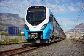Alstom Joint Venture Gibela X'Trapolis Mega train