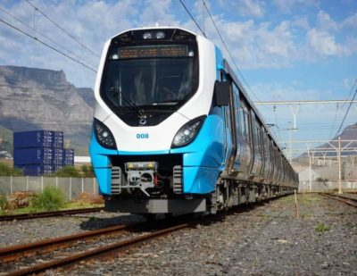 PRASA Presents Alstom JV Gibela Trains to Cape Town