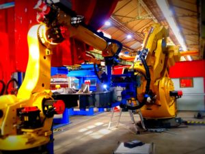 Alstom's Le Creusot site unveils high-capacity welding robot