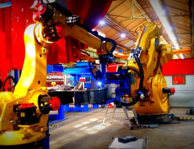 Alstom Unveils Highest-Capacity Welding Robot in the Rail Industry