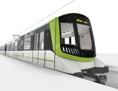 Alstom Presents Its Metropolis Vehicle for the Montréal REM