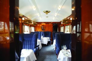 Axminster Carpets: Belmond British Pullman Renovation