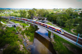 A New Generation Rollingstock (NGR) train for Queensland