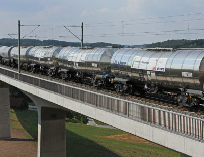 DB's Innovative Freight Car Project a Success