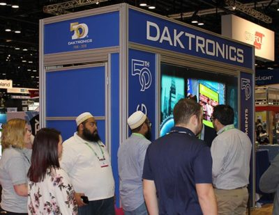 Daktronics to Exhibit Several New Products at ISA Sign Expo 2019