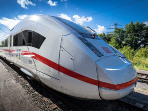 Siemens and Bombardier manufacture Deutsche Bahn's flagship ICE 4 train