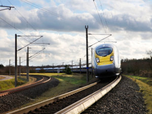 Eurostar Siemens Velaro e320 high-speed train