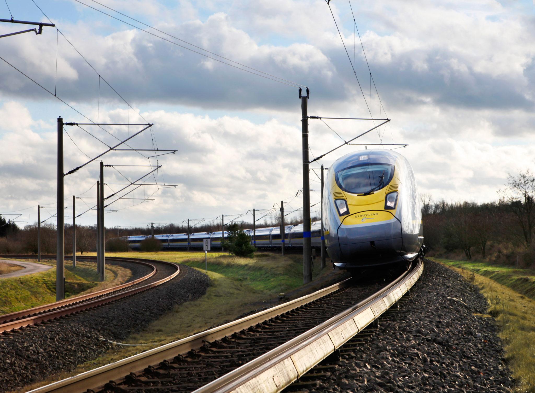 Eurostar Siemens Velaro e320 high-speed train