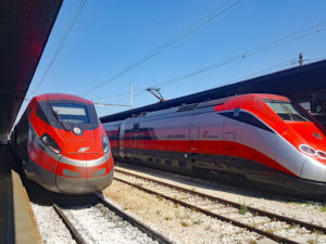 CAF wins maintenance contract for Italy's high-speed ETR500 Frecciarossa fleet