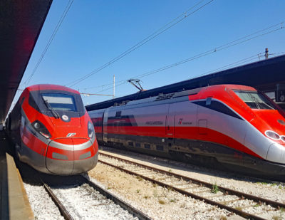 CAF wins Frecciarossa Maintenance Contract in Italy