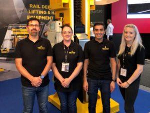 Mechan at Railtex: Best of Europe at UK Rail Show