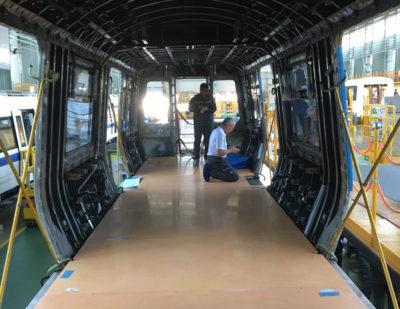 Milwaukee Composites Inc Transit Floor System