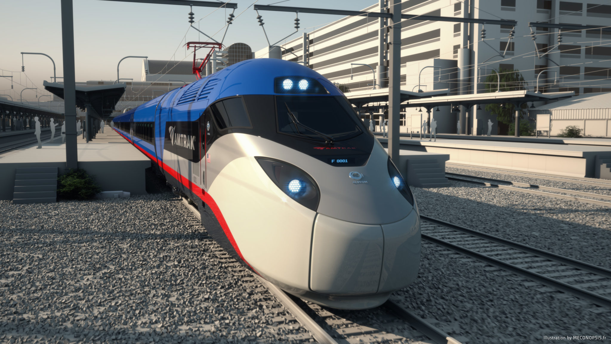 Amtrak increases Acela Express services on NEC