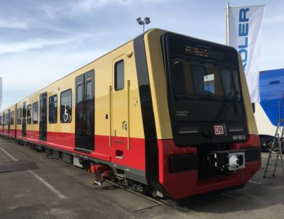 New Berlin S-Bahn Tested in Siemens Train Test Centre