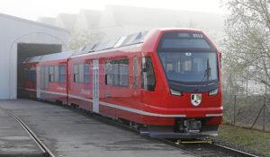 Stadler and Rhaetian Railway Unveil New Capricorn Train