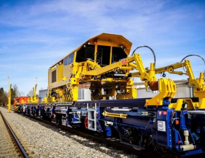 ROREXS Rail Loading Unit Adapts to Customer Needs