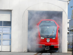 Roll out of the new Capricorn train for Rhaetian Railway