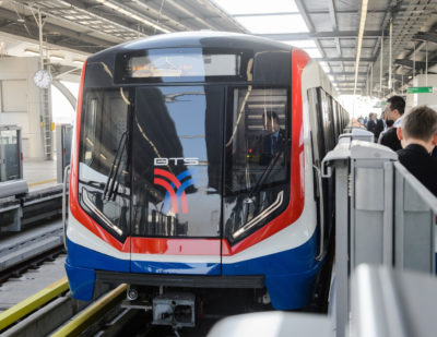 New Siemens Metros for Bangkok Skytrain System