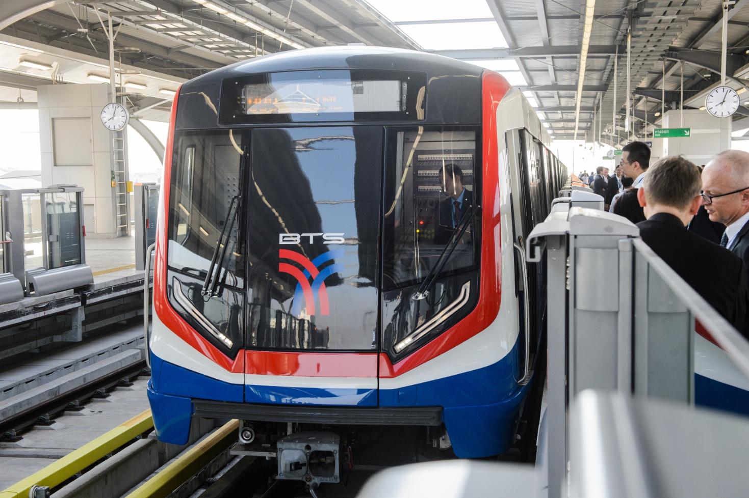New Siemens metros for the Bangkok Skytrain