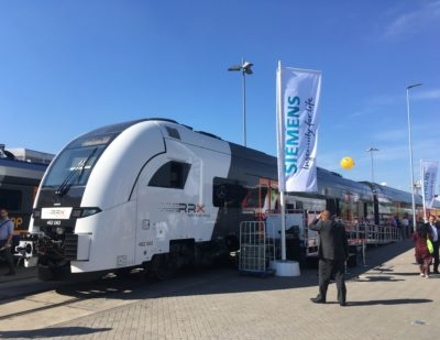 RRX Train – a Siemens Mobility Desiro HC  – a Success