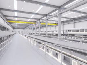 Siemens plans new rail factory in Goole Interior artist impression