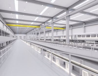 Siemens Rail Manufacturing Facility Reaches Milestone
