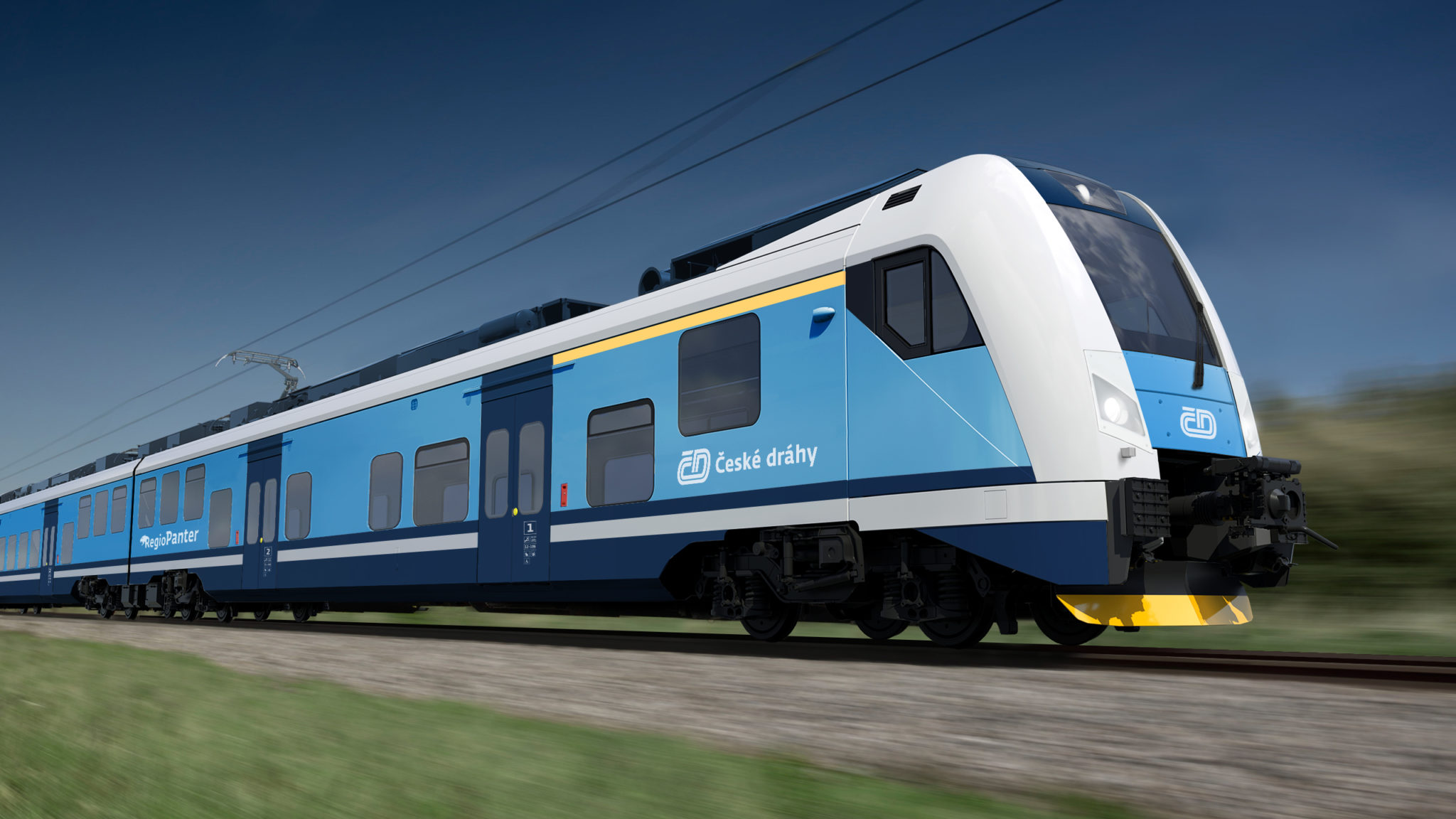 Skoda RegioPanter for Czech Railways
