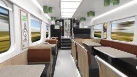 Skoda restaurant car for VR