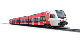 Stadler FLIRT train for Ottawa Trillium Line