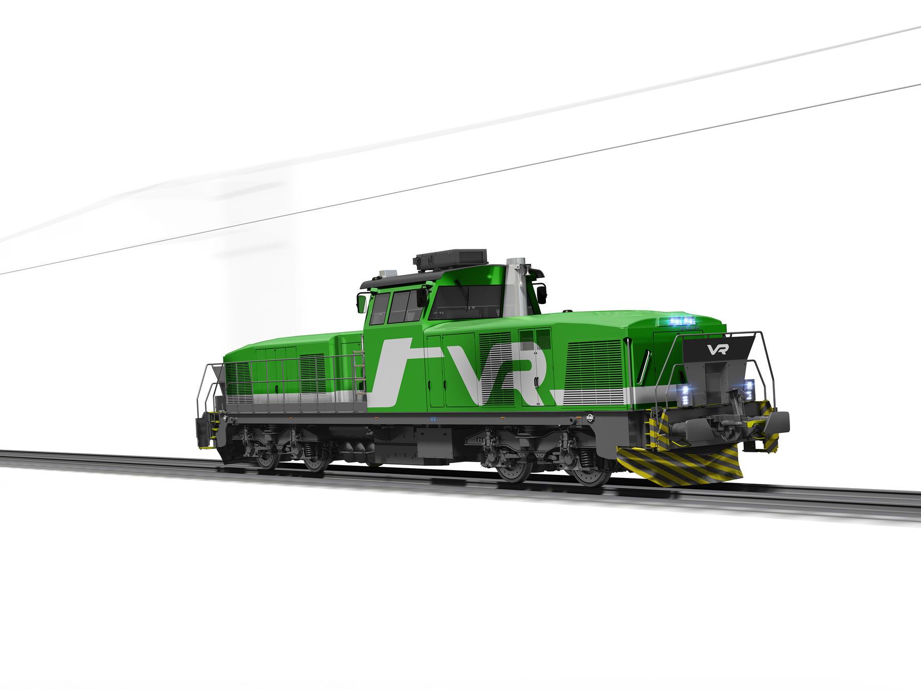 Stadler locomotive for Finland VR Group