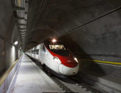 Swiss Railway Infrastructure Projects Progressing Well