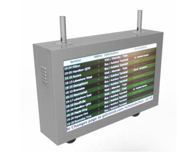 Nanov Display Unveils Latest Line of Transit Monitors