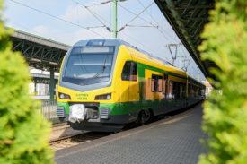 Stadler FLIRT train for GYSEV