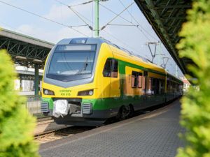 Stadler FLIRT train for GYSEV