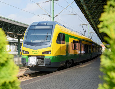 Stadler Delivers 10 Additional FLIRT Trains to GySEV
