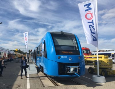 Fahma Orders 27 Hydrogen Fuel Cell Trains from Alstom