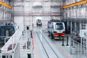 Alstom Begins Production of Passenger Locomotives in Kazakhstan