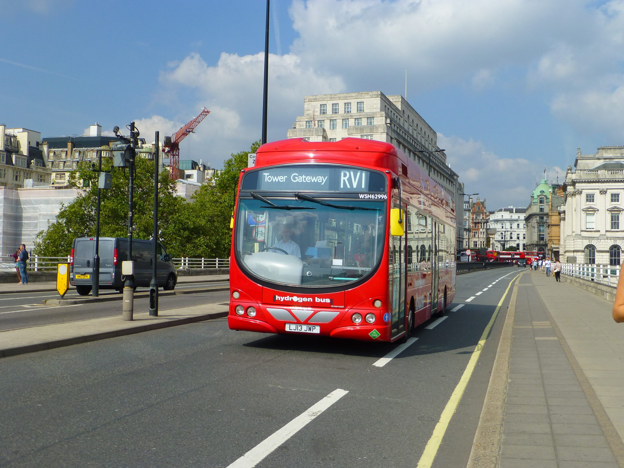 Arcola Energy is a hydrogen fuel cell specialist supplying London buses