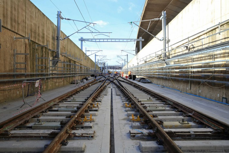 Crossrail is one of the major rail infrastructure projects in the UK