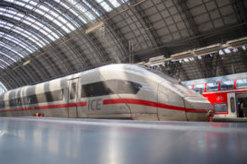 The Deutschland-Takt aims to co-ordinate and increase rail services throughout Germany: an ICE 4 in Frankfurt
