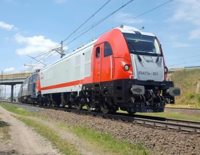 Newag to Supply 4 Dragon Electric Locomotives to Laude Smart Intermodal